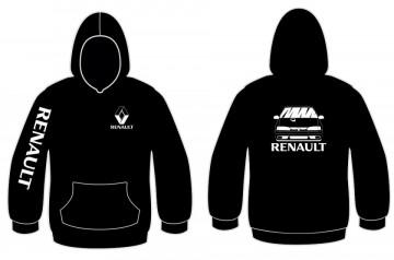 Sweatshirt com capuz para Renault 19