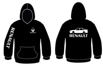 Sweatshirt com capuz para Renault 21 Turbo