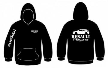 Sweatshirt com capuz para Renault Megane III 5 Portas