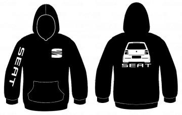 Sweatshirt com capuz para Seat Arosa