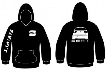 Sweatshirt com capuz para Seat Ibiza 6k2 Traseira
