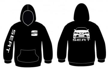 Sweatshirt com capuz para Seat Ibiza 6L