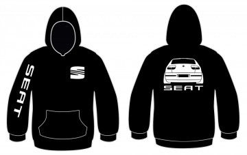 Sweatshirt com capuz para Seat Leon
