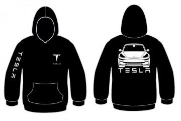 Sweatshirt com capuz para Tesla Model 3