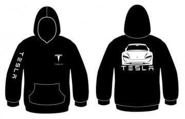 Sweatshirt com capuz para Tesla Roadster