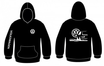 Sweatshirt com capuz para Volkswagen Golf Mk1
