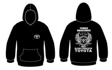 Sweatshirt com capuz Todos Nascemos (Toyota)