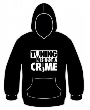 Sweatshirt com capuz - Tuning is Not a Crime
