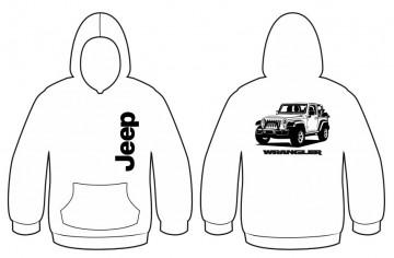 Sweatshirt para Jeep wrangler