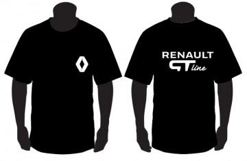 T-shirt com Renault GTline