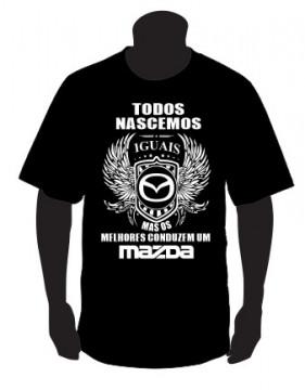 T-shirt com Todos Nascemos Iguais (Mazda)
