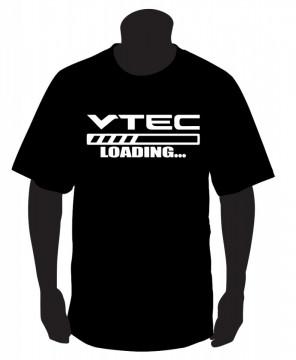 T-shirt com  VTEC Loading