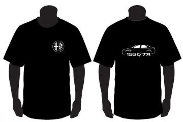 T-shirt para Alfa Romeo 156 GTA