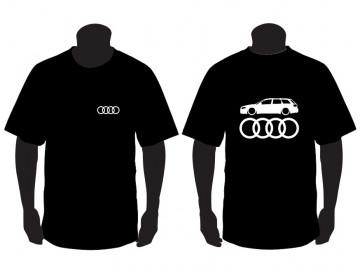 T-shirt para Audi A4 B7 Avant Lateral