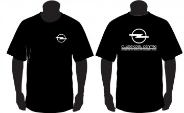 T-shirt para Clube Opel Centro