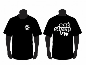 T-shirt para Eat Sleep VW
