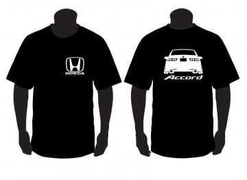 T-shirt para Honda Accord traseira