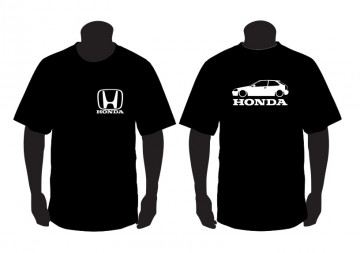 T-shirt para Honda Civic EK Lateral
