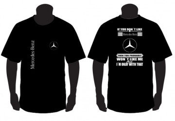 "T-shirt para "" If you don't like scania "" Mercedes"