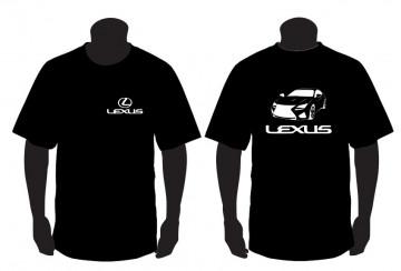 T-shirt para lexus rc f
