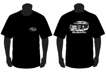 T-shirt para Subaru Impreza wrx sti
