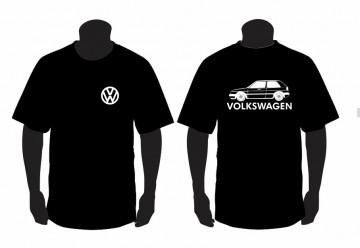 T-shirt  para Volkswagen Golf II