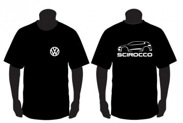 T-shirt  para Volkswagen Scirocco