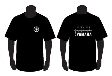 T-shirt  para Yamaha Velocidades