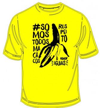 T-shirt  - Somos todos macacos