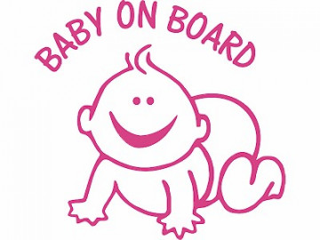 Autocolante - Baby on board