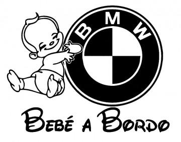 Autocolante - Bebé a bordo para BMW