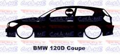 Autocolante - BMW 120d  Coupe Com Stig