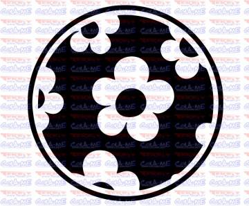 Autocolante - Bola de Flores
