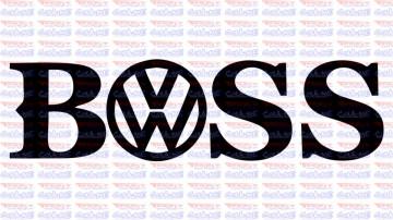 Autocolante - Boss VW
