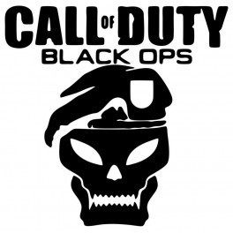 Autocolante - Call Of Duty Black Ops