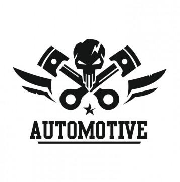 Autocolante com Automotive