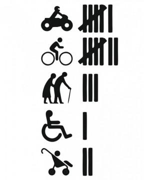 Autocolante  com Contador de acidentes