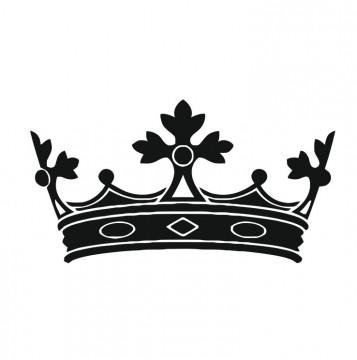 Autocolante com Coroa