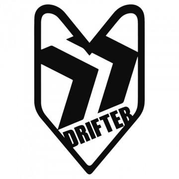 Autocolante com Drifter jdm