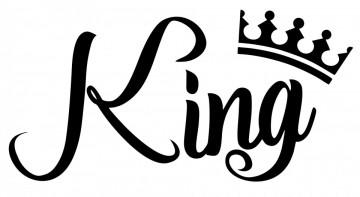 Autocolante com King