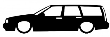 Autocolante com Volvo 850 / V70