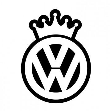 Autocolante com VW King