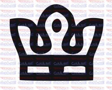 Autocolante - Coroa 3