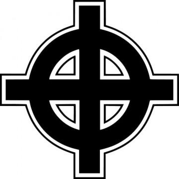 Autocolante - Cruz Celta