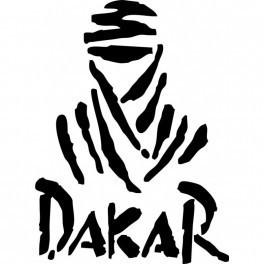 Autocolante - Dakar Com Letras