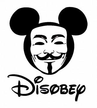 Autocolante - Disobey