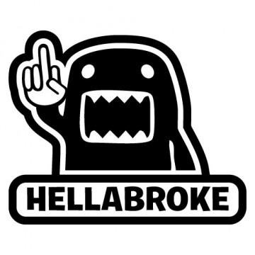 Autocolante - DOMO Hellabroke