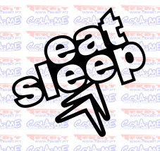 Autocolante - Eat Sleep Citroen
