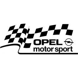 Autocolante - Opel Motosport