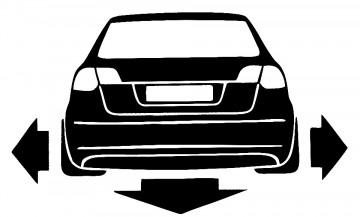 Autocolante para Audi A3